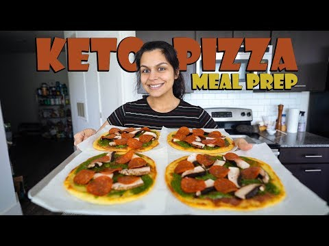 Keto Pizza Meal Prep with Keto Connect!