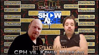 1st Round Of Elite Contender Tournament: Carl Hunter Price vs Kevin Messiah(Saturday Night Showcase)