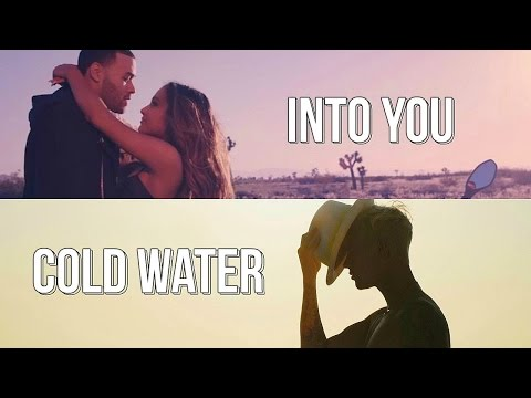 Ariana Grande & Major Lazer, Justin Bieber, MØ  - Into You / Cold Water (REMASTERED MASHUP)