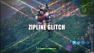 Fortnite - Exploring with the Zipline Glitch - How far away from the map can you be?