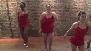 Salsa Salsa Dance Studio's Ladies Performance Team 09/21/2012 [HD]