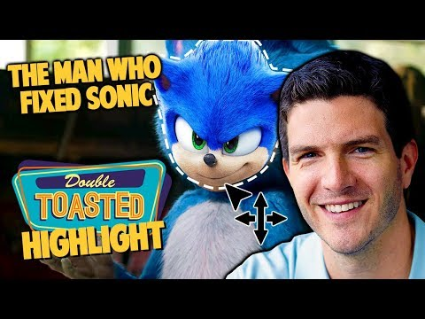 SONIC THE HEDGEHOG MOVIE AND THE MAN WHO FIXED HIM