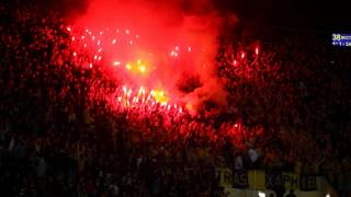 Metalist-Sporting Pyroshow
