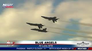BLUE ANGELS: At Luke Air Force Base (FNN)