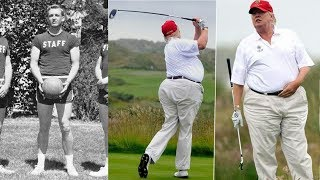 Donald Trump - Transformation From 5 To 71 Years Old