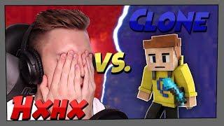 "[FACECAM] ""1 gegen 1 im DM!""   HexHex [HxHx] vs. Clone [clony]   CWBW Highlights   Da Babbit"