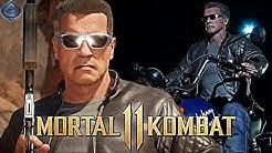Mortal Kombat 11 Online  - EPIC TERMINATOR 2 T-800 MOVIE GEAR!
