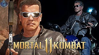 Mortal Kombat 11 Online  - EPIC TERMINATOR 2 T-800 MOVIE GEAR!