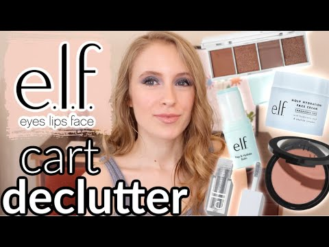 elf-cart-declutter- -deciding-what-to-*actually*-buy- -reverse-retail-therapy
