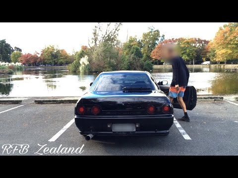 RB25DET R32 GTS-T Coupe street sesh New Zealand!
