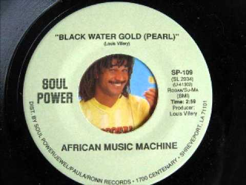 AFRICAN MUSIC MACHINE-black water gold(pearl)