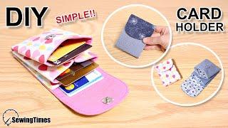 Carteira Porta Cartões Fácil Passo a Passo – Tutorial Porta Cartões