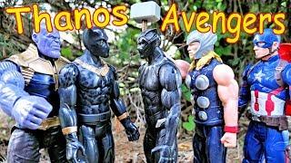Thanos vs Hulk, Black Panther, Iron Man, Thor - Avengers Full Fight!