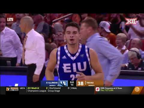 Texas vs. Eastern Illinois Men's Basketball Highlights