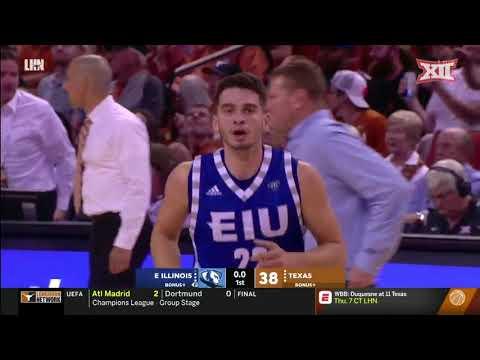 Texas vs. Eastern Illinois Men\'s Basketball Highlights