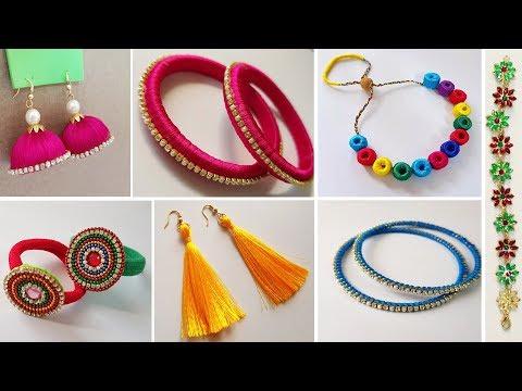 Creative Yet Easy Homemade Jewelry ideas || Homemade Jewellary