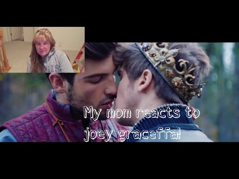 MY MOM REACTS TO DON'T WAIT BY JOEY GRACEFFA