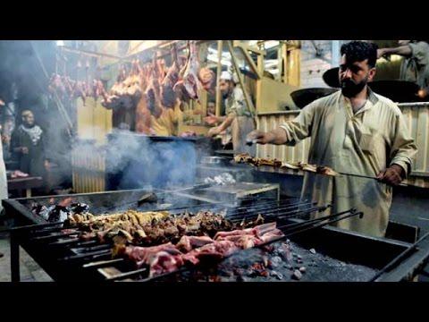 Peshawar Namak Mandi Delicious Dry Tikka & Dumba Karahi