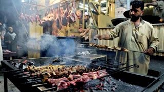 Repeat youtube video Peshawar Namak Mandi Delicious Dry Tikka & Dumba Karahi