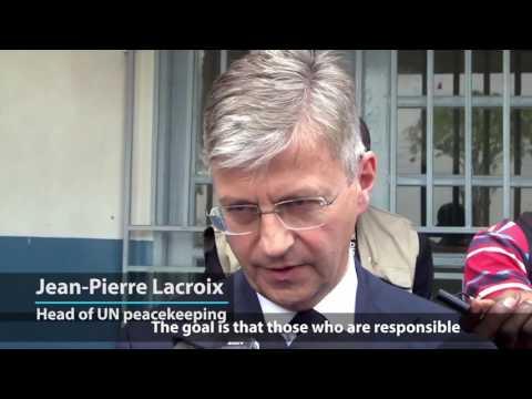 UN peacekeeping chief visits DRC