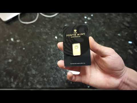The Perth Mint 5 Gram Gold Bar/Bullion Review