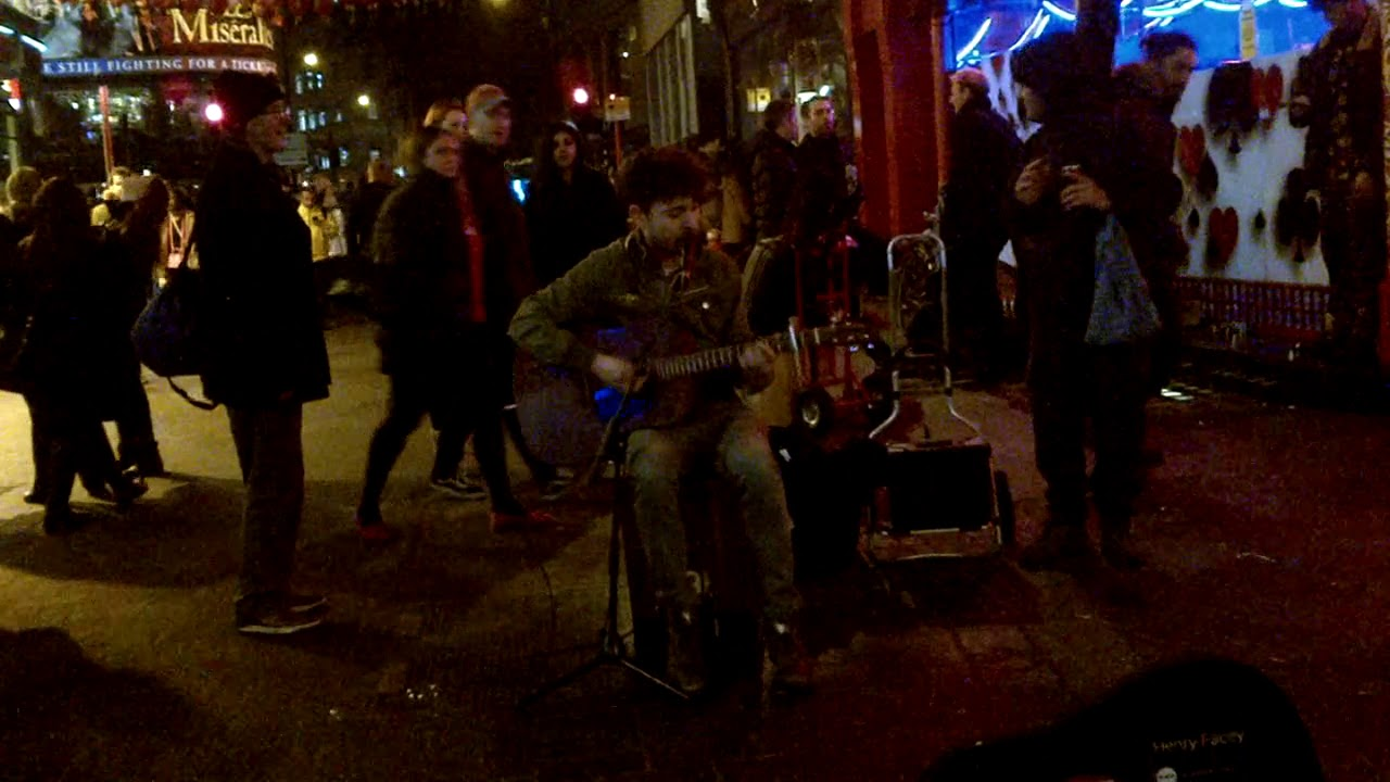 Henry Facey plays Space Oddity (David Bowie) at London Chinatown