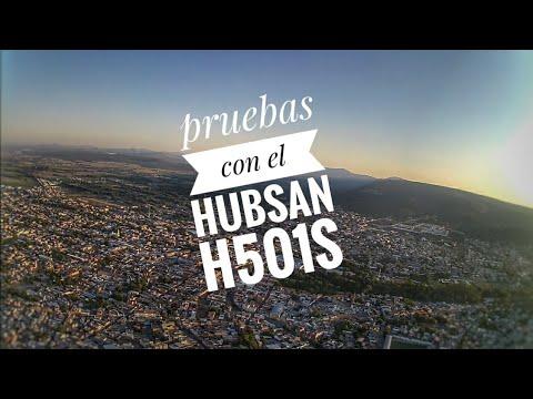 Фото Pruebas al hubsan h501s en el amanecer