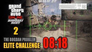 The Doomsday Heist - Act 2 (The Bogdan Problem) - Elite Challenge 08:18 (PC, 4 Players)