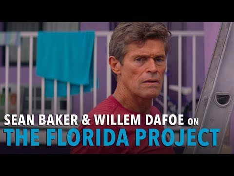 Sean Baker & Willem Dafoe on THE FLORIDA PROJECT
