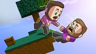 DON'T Fall Off The SkyBlock Challenge! | Minecraft