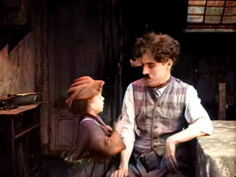 The Kid - Charlie Chaplin (1921) Colorized With DeOldify