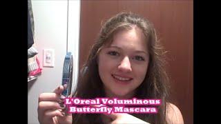 L'Oreal Paris Voluminous Butterfly Mascara Review Thumbnail