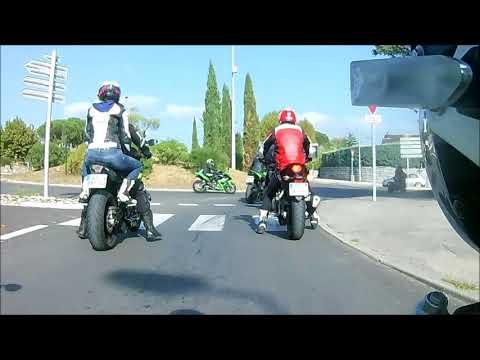 sortie moto a vallon pont d'arc