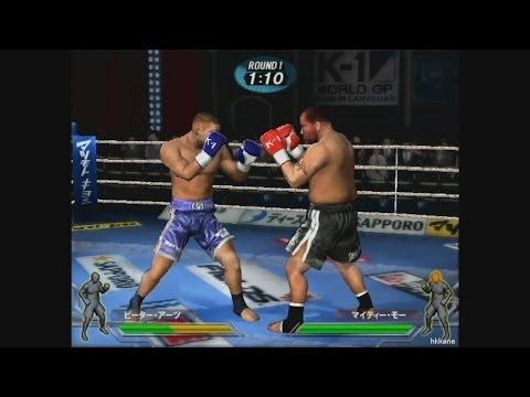 PS2 K-1 World GP 2006 Gameplay