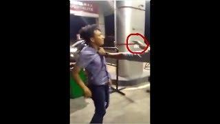 SOK JAGOAN ! Pria Ini Menodongkan Pistol Kepada warga sipil Karena Hal ini ....!