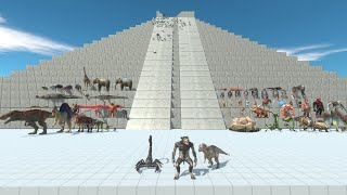 3 Updated Units Pachycephalosaurus Werewolf Scorpion vs ALL UNITS Animal Revolt Battle Simulator