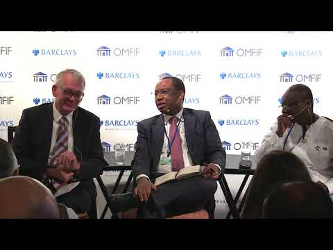 Daniel Mminele speaking at the launch of the Barclays Africa Financial Markets Index