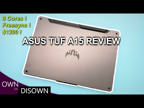 AMD KILLED IT ! ASUS TUF A15 GAMING (TUF506) REVIEW