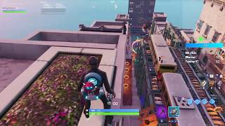 Top of map glitch downtown drop! FORTNITE BATTLE ROYALE