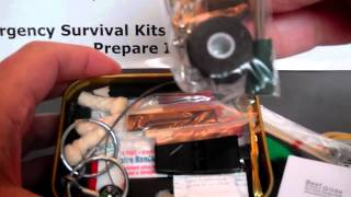 Be Prepared Pocket Survival Kit Boy Scout Official License