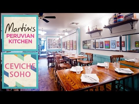 Peruvian Kitchen in the heart of Soho - Martin Morales prese