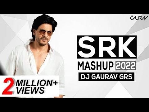 SHAH RUKH KHAN | SRK MASHUP 2018 - DJ GAURAV GRS [FULL HD LYRICAL VIDEO]