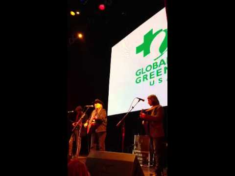 Willie Nelson at Global Green USA Pre-Oscar Party 2013