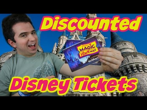 Discounted Disney World Tickets