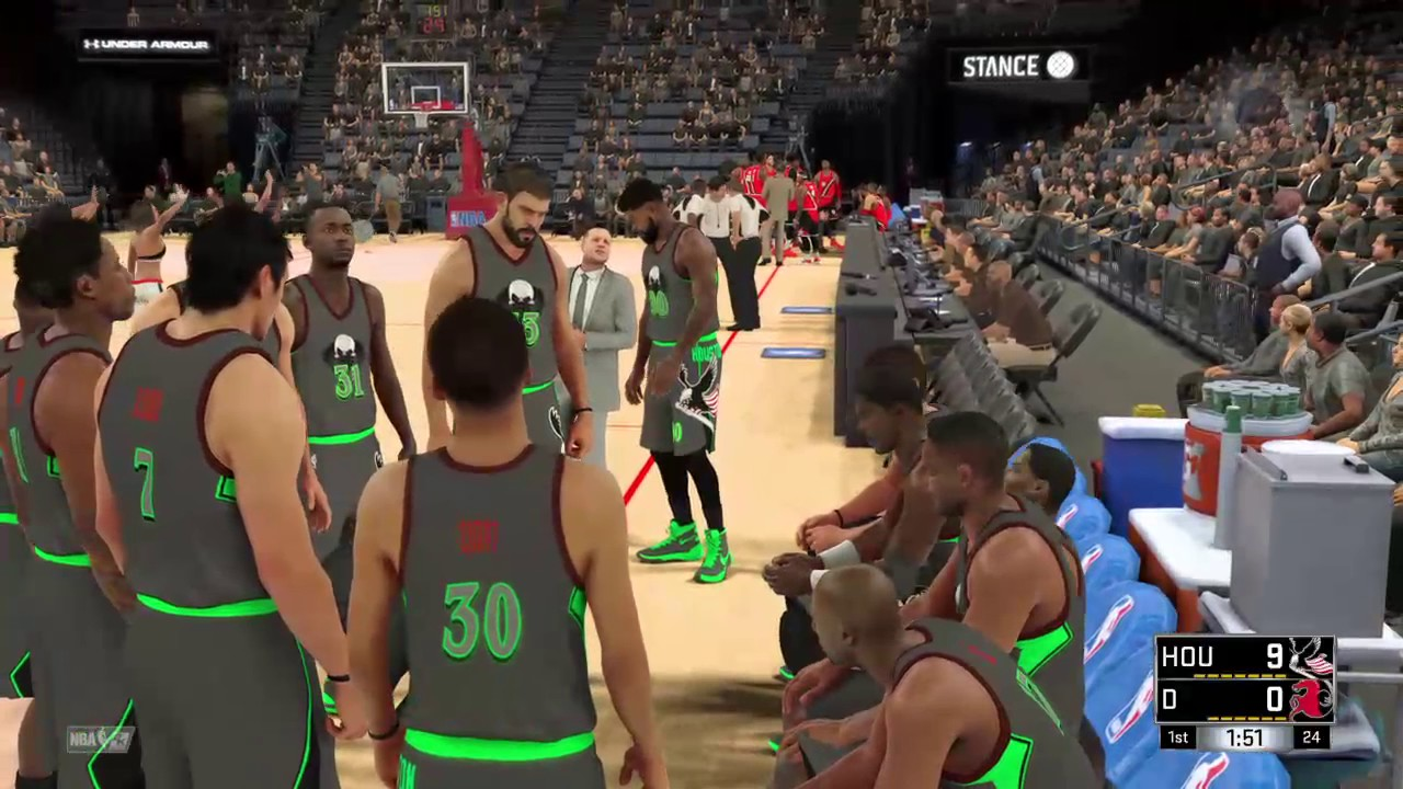 how to call a pnr in nba 2k17