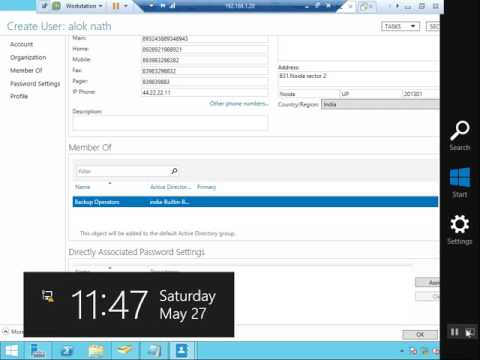 How to create Organizational Units on Windows Server 2012 R2