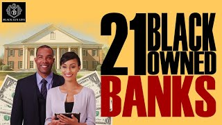 Black Excellist:  21 Black Owned Banks (#BANKBLACK)