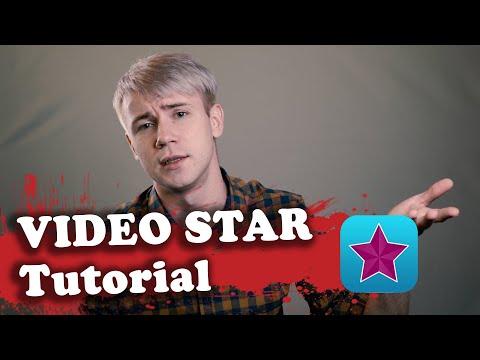 VIDEO STAR TUTORIAL. Монтаж Как в Клипе. Урок для начинающих