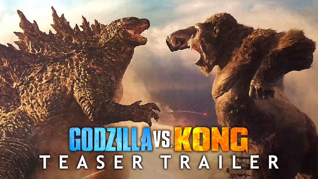 GODZILLA vs. KONG (2021) Teaser Trailer Concept | HBO Max MonsterVerse Movie