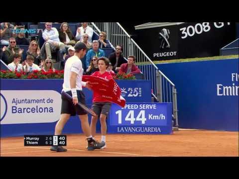 Nadal, Thiem reach final   Barcelona Open 2017 Day 6 Highlights